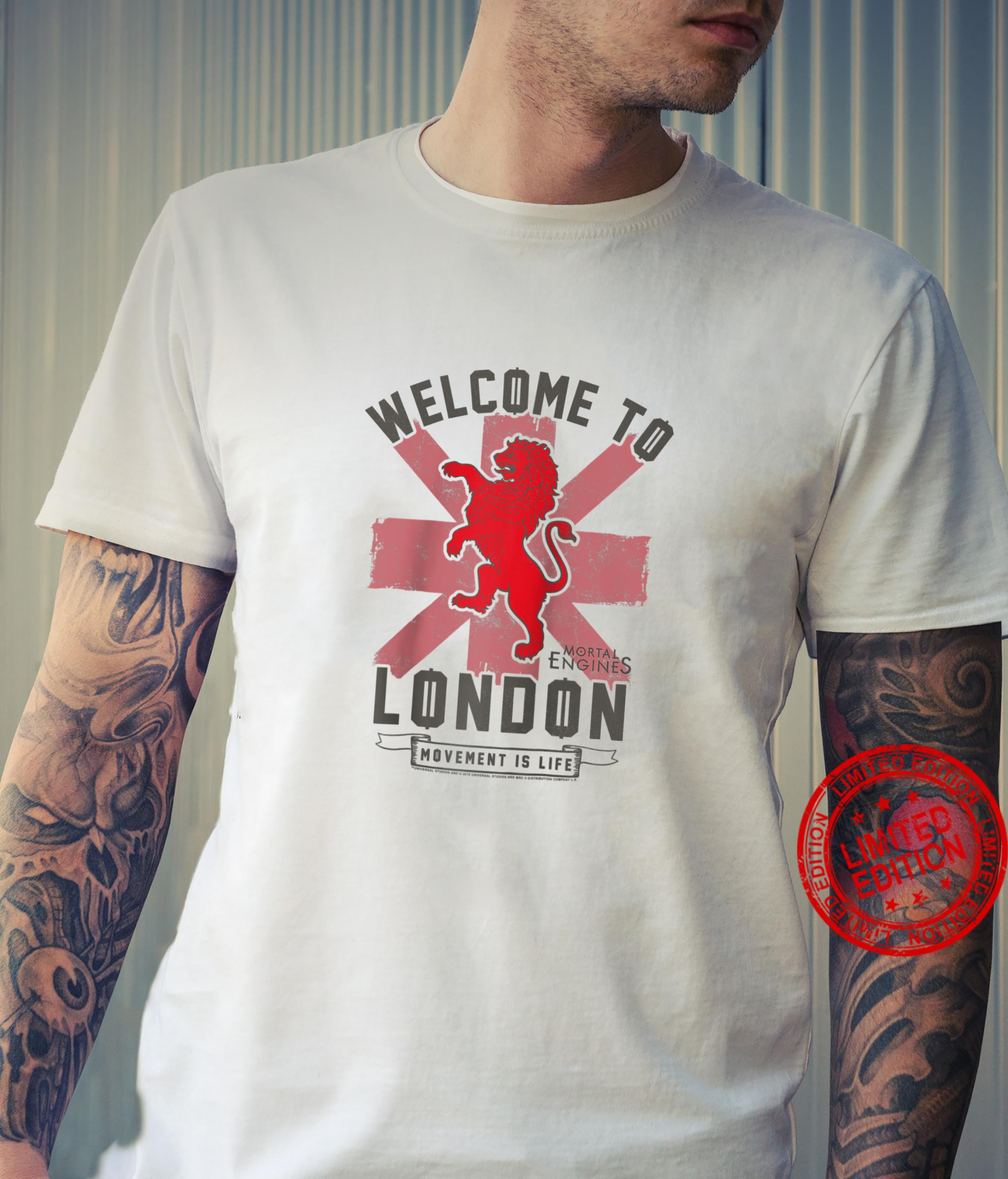 Mortal Engines Welcome To London Shirt