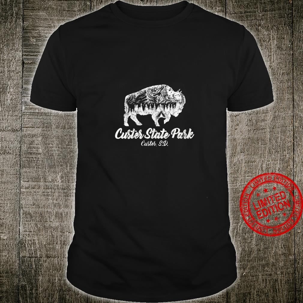 Womens Custer State Park for Bisons South Dakota Shirt